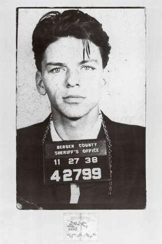 Find My Arrest Record Frank Sinatra Mugshot Posters Allposters Ca