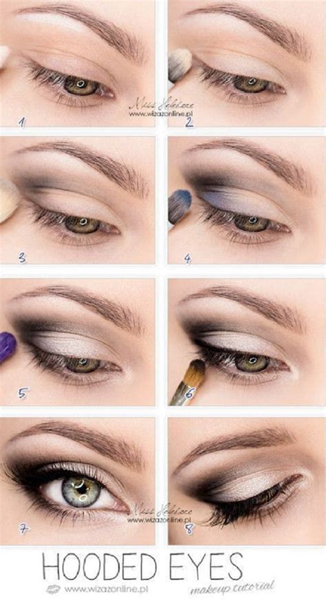 eyeshadow tutorial for small eyelids eye makeup for hooded eyes mugeek vidalondon