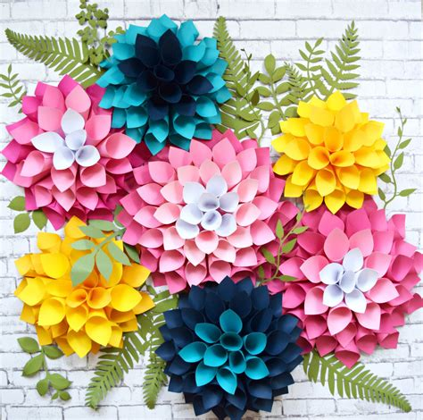 printable paper flowers to make giant paper flowers paper flower wall flower templates