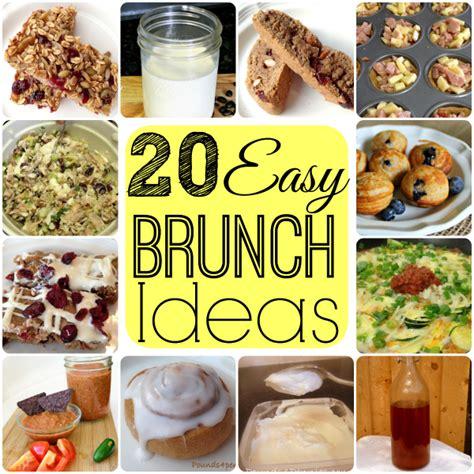 fast easy brunch recipes food ideas recipes