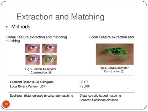 pattern matching db2 iris peri ocular recognition