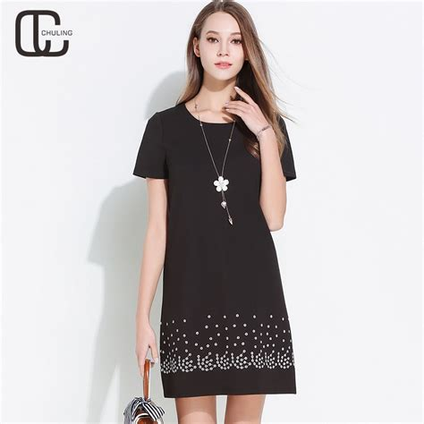 summer womens embroidery  size dresses elegant
