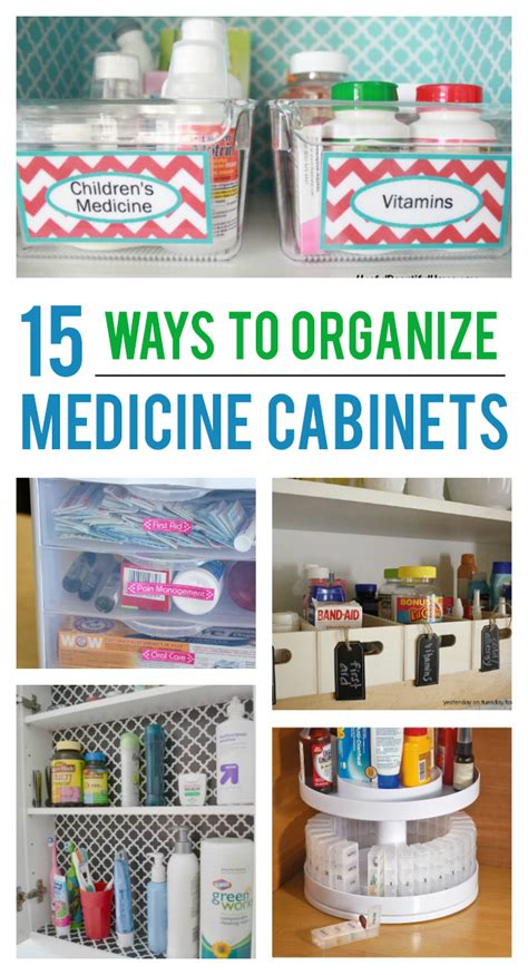 How To Organize Medicine Closet by 15 Ways To Organize Your Medicine Cabinet