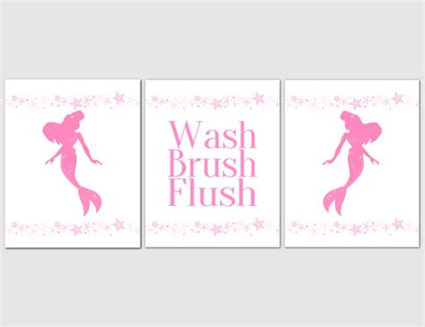 kids mermaid bathroom mermaid bathroom art theme kids bathroom art pink mermaids