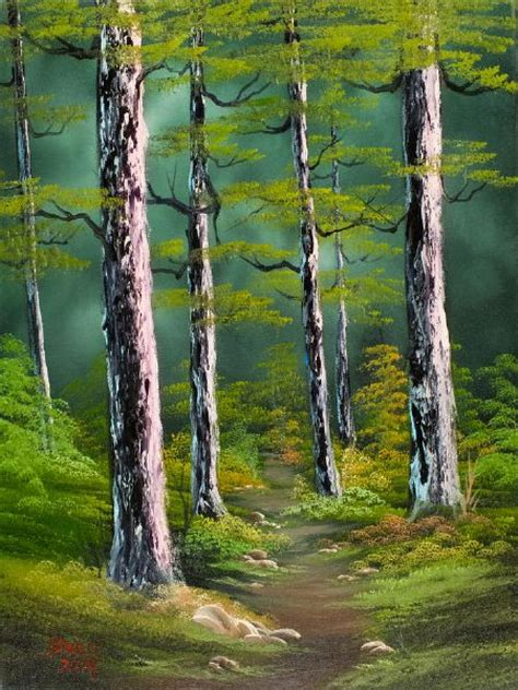 bob ross painting forest silent forest painting bob ross silent forest paintings