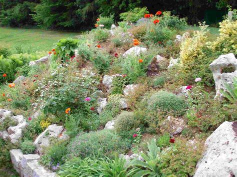 steingarten am hang bilder wie sie den steingarten gestalten k 246 nnen tipps zur planung