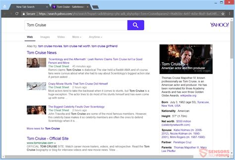 email yahoo search email onesearch org redirect removal