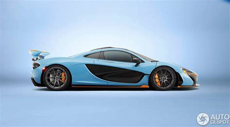 mclaren p1 side view mso mclaren p1 gulf racing livery inspired side view