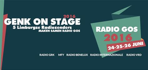 radio genk on stage genk on stage