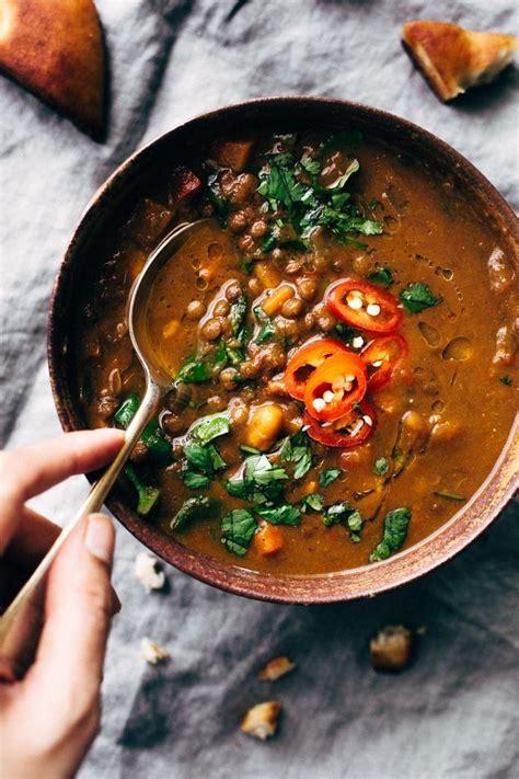 Winter Detox Soup Plan by Best 25 Vegetarian Food Ideas On