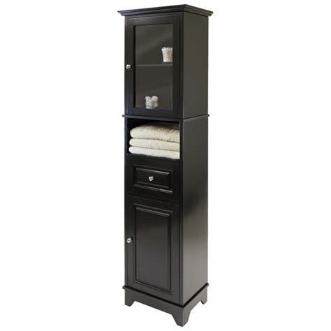 winsome alps cabinet winsome wood shelves ws 20871 alps cabinet with