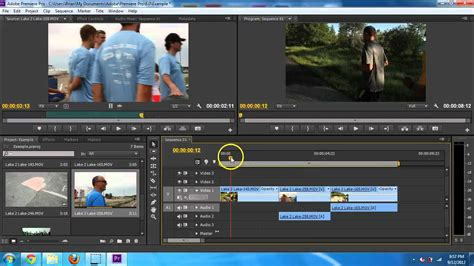Tutorial In Adobe Premiere Cs6 | adobe premiere pro cs6 basic editing introduction