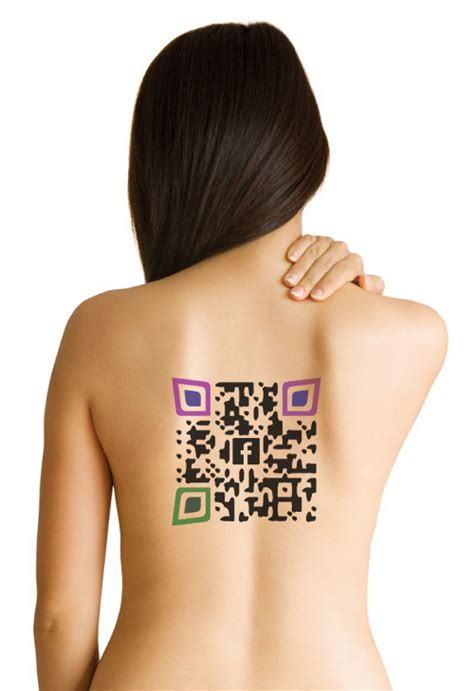 qr code tattoo temporary we heart it tattoos