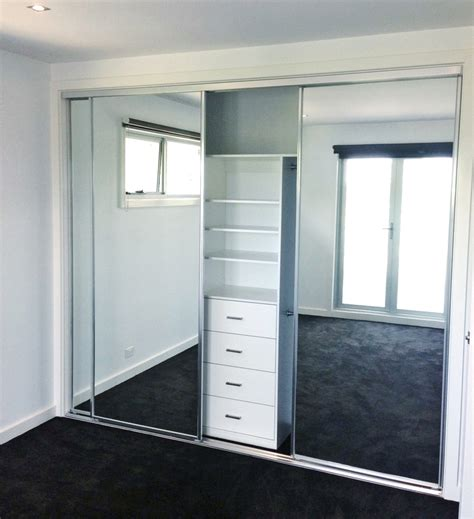 Wardrobe Doors Mirror by Robe Doors Trojan Glass