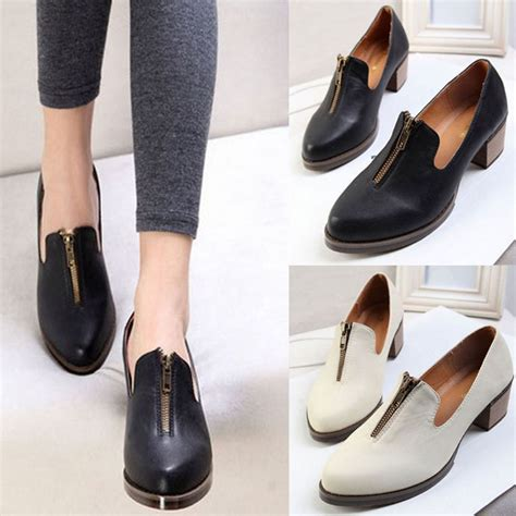 buy casual pointed toe flat s oxfords shoes