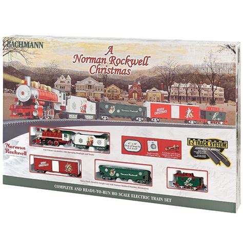 bachmann ho scale norman rockwell christmas electric train
