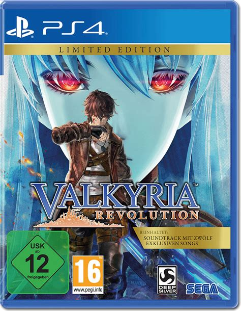 Ps4 Valkyria Revolution Vanargand Edition R1 valkyria revolution limited edition playstation 4 world of
