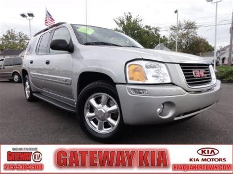 Gateway Kia Quakertown Used 2004 Gmc Envoy Xl Slt 4x4 For Sale Stock Q4466a