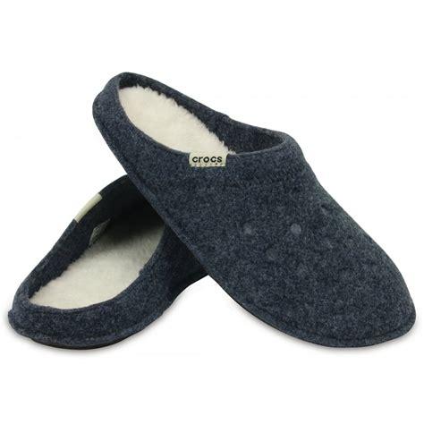 crocks slippers crocs crocs classic nautical navy oatmeal ux1 203600