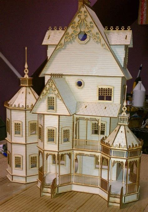 ashley gothic victorian dollhouse   scale kit