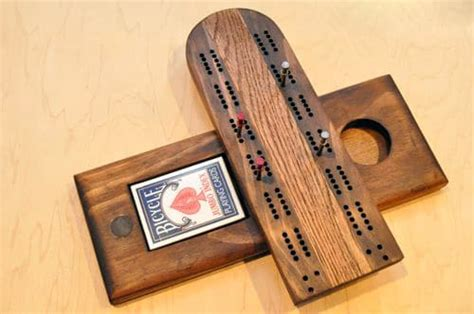 how to make a cribbage board the of manliness