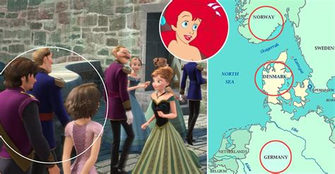 film theory elsa and rapunzel the secret frozen tangled mermaid connection and