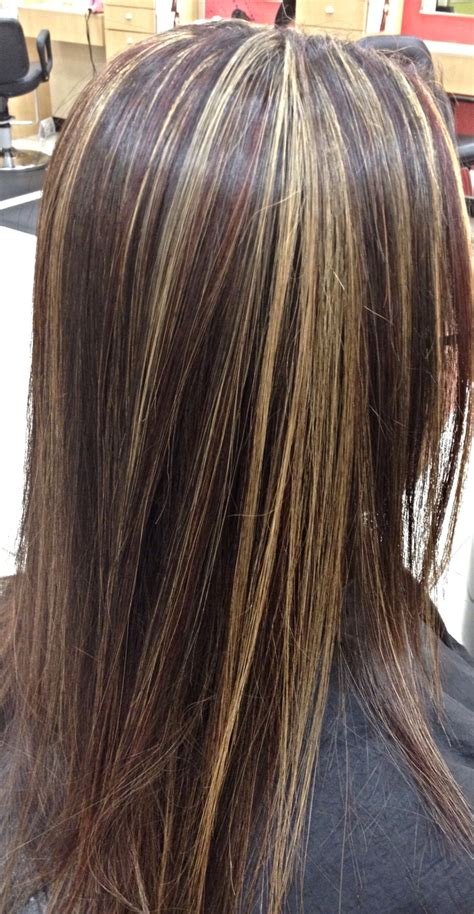 what is in style in highlight dark brown hair with caramel highlights google search
