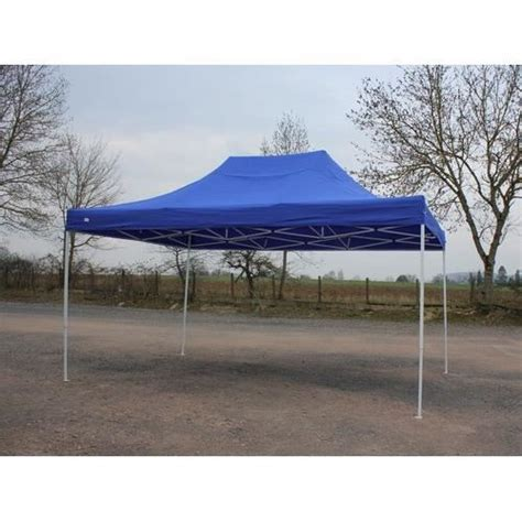 terrassenüberdachung 4 x 5 m barnum pliant 3x4 5m bleu tente pliante etanche achat