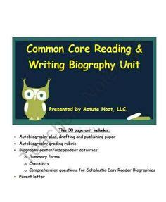 biography writing unit 1000 images about second grade biographies on pinterest