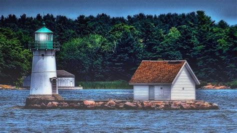 lighthouse home floor plans light house at alexandria bay ny photograph by dave sandt