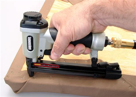 new pneumatic staple gun upholstery stapling tool air