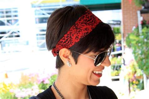 images of short choppy hair with bandanna easy hairstyles for short hair 3 cute bandana hairstyles
