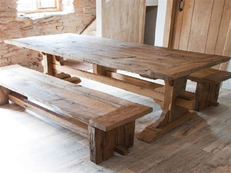reclaimed dining room table reclaimed wood dining room table marceladick com