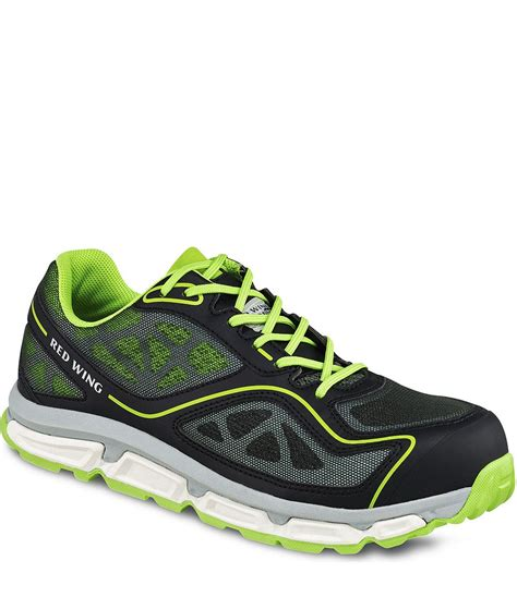 Sepatu Safety Wing Pecos 6342 wing s athletic green black sepatu safety