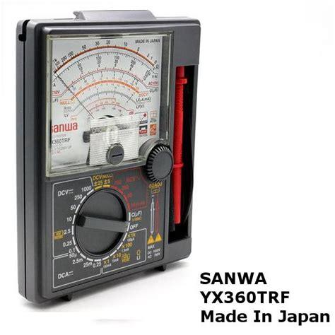 Multi Tester Sanwa Analog sanwa multi tester analog meter orig end 2 14 2018 3 15 pm