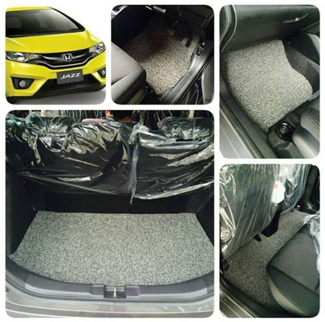 Karpet Honda Jazz Gd3 jual harga karpet pvc luxury honda jazz bagasi