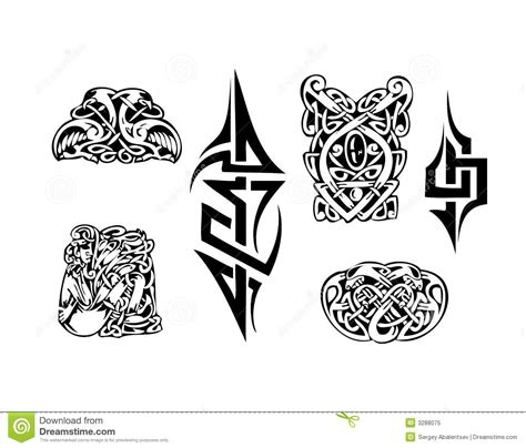 celtic vector tatoo royalty free stock photo image 3288075