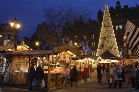 christmas markets and shopping for christmas gifts in