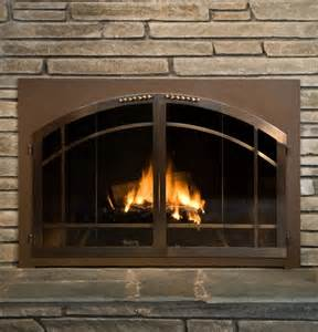 wood burning fireplace accessories glass door for wood burning fireplace fireplace