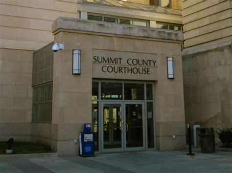 Summit County Ohio Court Records The Akron News