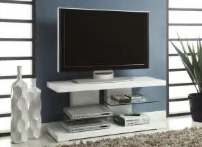 modern tv white painted plywood flat screen tv stand with tempered