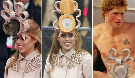 Princess Beatrice Hat Meme - is anyone watching this ghastly olympics opening ceremony