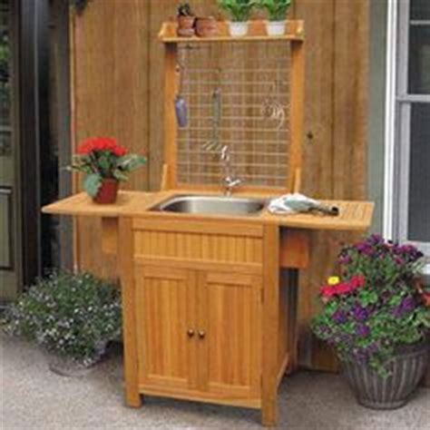 outdoor sink ideas garden sink on pinterest outdoor sinks potting benches