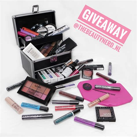 Make Up Giveaway - giveaway win nyx professional make up goodies the beautynerd