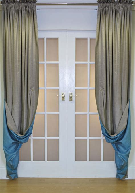 Reversible Luxury Faux Silk Curtains | reversible luxury faux silk curtains slot top heading
