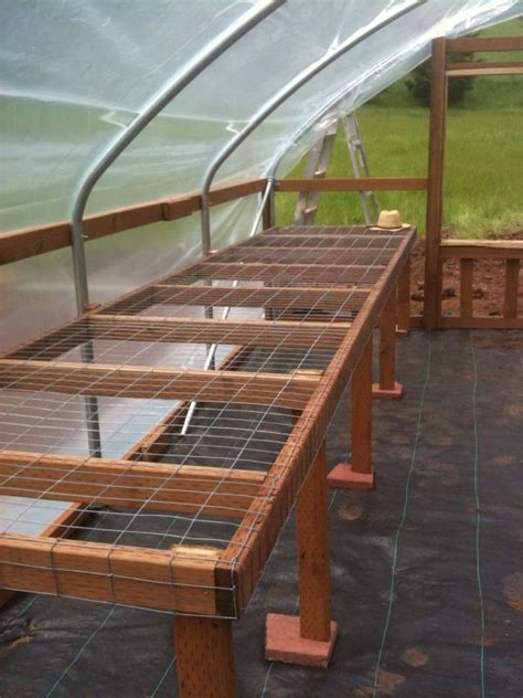 greenhouse benches uk 1000 ideas about greenhouse shelves on pinterest