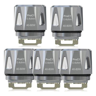 Joyetech Proc1 0 4ohm Dl Atomizer Replacement Spare Parts joyetech pro c1 0 4ohm atomizer coil 5 pack vapourtron
