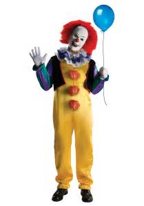 it the clown costumes for halloween deluxe pennywise costume