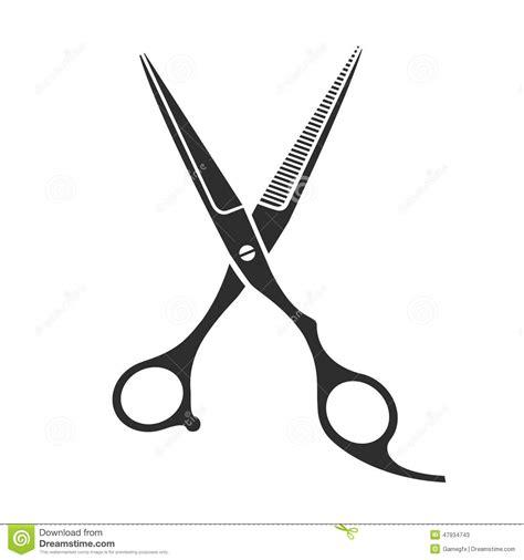 forbici clipart vintage barber shop scissors stock vector illustration