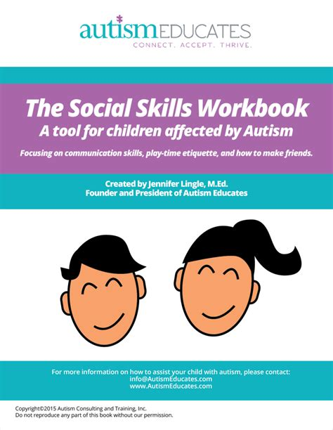 social skills handbook for autism activities to help learn social skills and make friends books social skills help autism resources autism educates